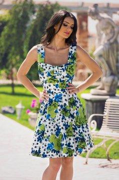 Kleid LaDonna Happy Flowers Weiss