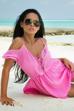 Mexton Boiling Soul Pink Dress