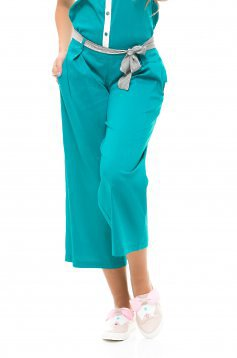 PrettyGirl Labour Turquoise Trousers
