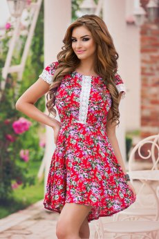 Rochie StarShinerS Delicious Red