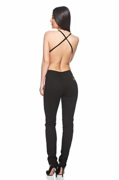 Ocassion Lovely Chick Black Jumpsuit