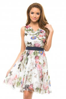Rochie LaDonna Flowers Miracle White