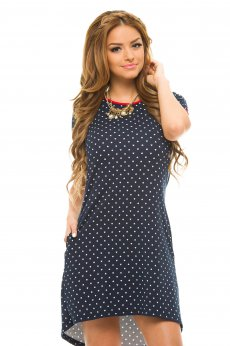 Rochie Artista Simple Hearts DarkBlue