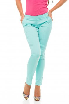 Fofy Straight Action Mint Trousers