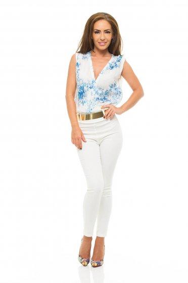 Salopeta Eleganta Dama PrettyGirl Wishes White