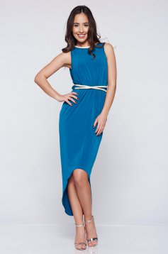 Daniella Cristea Gratitude Turquoise Dress