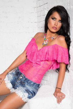 Body Mexton Laced Desire Pink
