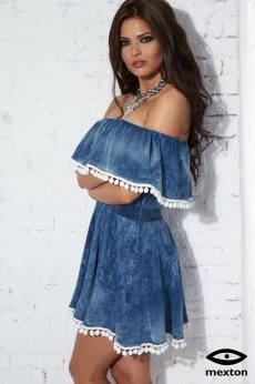 Mexton Supreme Look Blue Dress