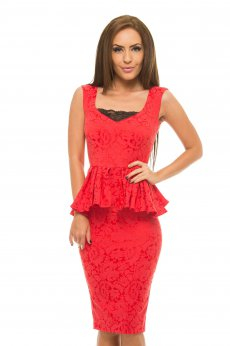 Rochie StarShinerS Heavenly Red