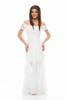 Mexton Emotional Summer White Dress