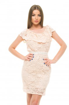 StarShinerS Excellent Peach Dress