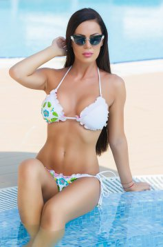 StarShinerS Brodat Miami White Swimsuit