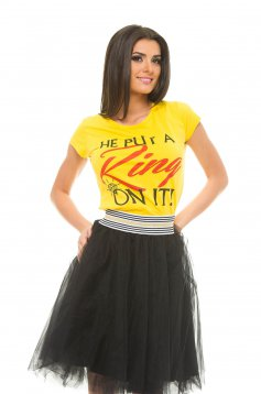 Tricou Certain Ring Yellow