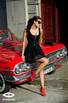 Mexton Desired Lady Black Dress