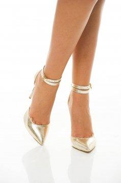 Mineli Boutique Desire Gold Shoes