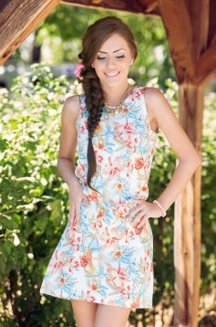 Rochie StarShinerS Visionary Orange