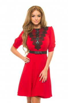 LaDonna Mistery Touch Red Dress