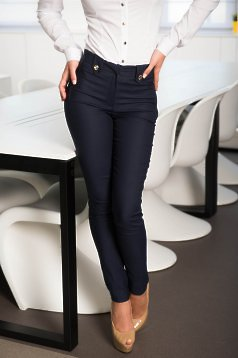Pantaloni LaDonna Office Attempt DarkBlue