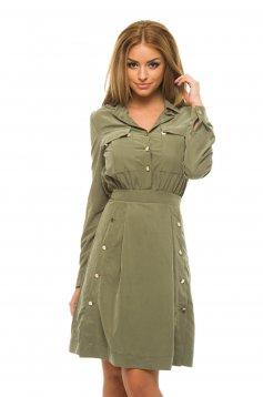 PrettyGirl Bright Smile Green Dress