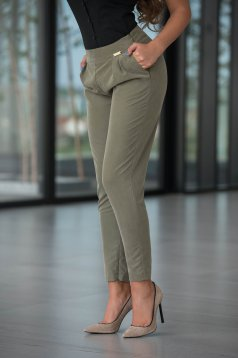 PrettyGirl Engaged Green Trousers