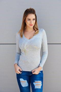 MissQ Hot Evolution Grey Sweater