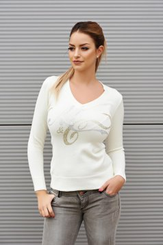MissQ Hot Evolution Nude Sweater