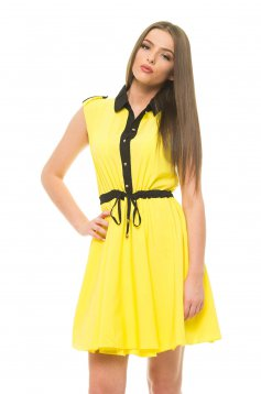 Rochie Huge Ambition Yellow