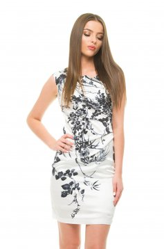 Rochie Charming Behave White