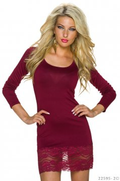Rochie Absolute Pleasure Burgundy