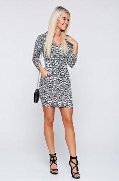 MissQ black pencil casual cloth dress