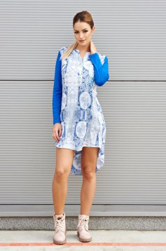 MissQ Cosmic Affair Blue Dress