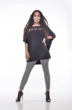 Bluza MissQ Relaxed Time Black