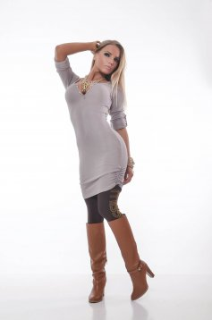 MissQ Simple Choice Brown Dress