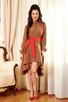 PrettyGirl Different Brown Dress