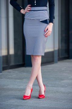 Fofy Elegant Look DarkBlue Skirt