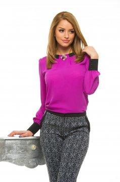 Bluza LaDonna Cosy Office Purple