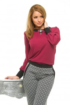 Bluza LaDonna Cosy Office Burgundy