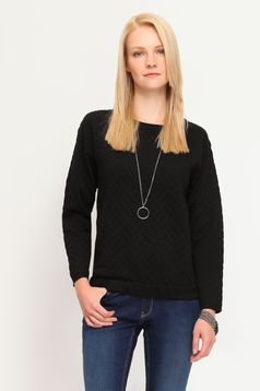 Top Secret First Persuasion Black Sweater