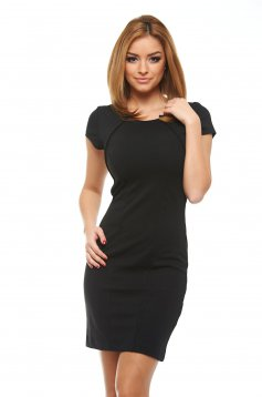 Top Secret Simple Girl Black Dress