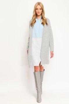 Top Secret Innocent Flowers Grey Skirt