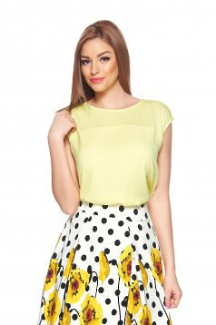 Top Secret Pure Feeling Yellow Top Shirt