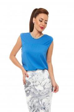 Top Secret Pure Feeling Blue Top Shirt