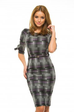 Rochie Artista Office Square Purple