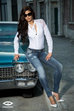 Mexton Classic Attention Blue Jeans