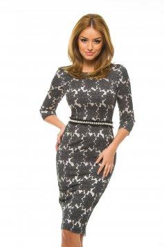 StarShinerS Stylish DarkGrey Dress
