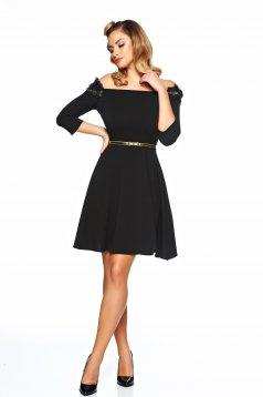Kleid StarShinerS Fully Treasure Schwarz