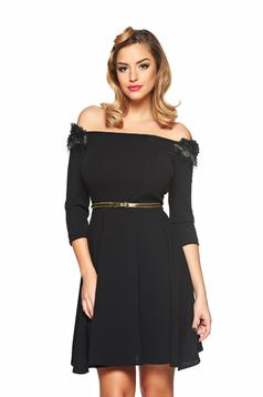 StarShinerS Fully Treasure Black Dress