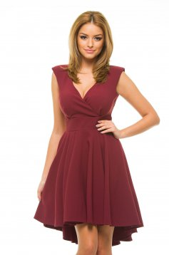 Artista Sweet Treat Burgundy Dress