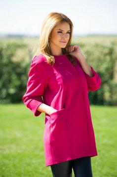 LaDonna Short Cut Pink Trechcoat