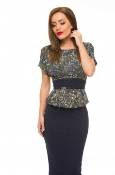 Bluza Fofy Flashy Effect DarkBlue